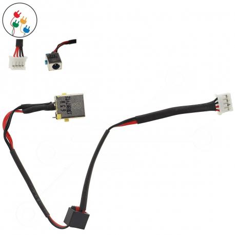 Acer TravelMate P253-MG Napájecí konektor - dc jack pro notebook - 4 piny s připojovacím kabelem kov + zprostředkování servisu v ČR
