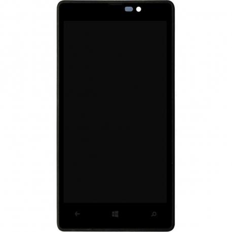 Nokia Lumia 820 Displej s dotykovým sklem a rámečkem pro mobilní telefon + doprava zdarma + zprostředkování servisu v ČR