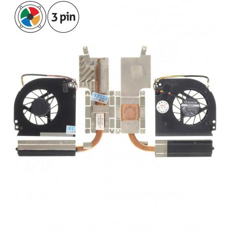 Acer Extensa 5220-301G12MI Ventilátor s chladičem pro notebook - 3 piny + zprostředkování servisu v ČR