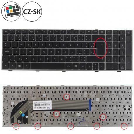 HP ProBook 4545s Klávesnice pro notebook - CZ + doprava zdarma + zprostředkování servisu v ČR