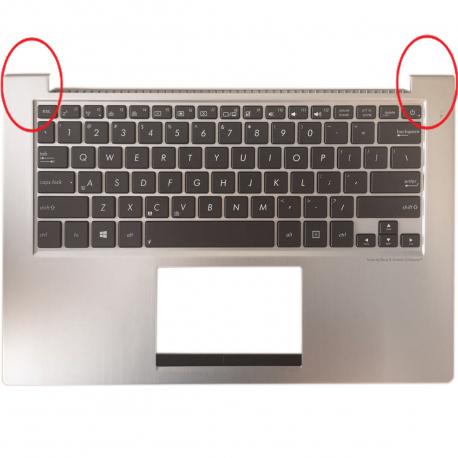 Asus UX32VD Opěrka rukou pro notebook - stříbrná + doprava zdarma + zprostředkování servisu v ČR