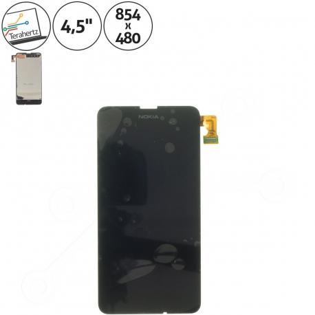 Nokia Lumia 630 Displej s dotykovým sklem pro mobilní telefon + zprostředkování servisu v ČR