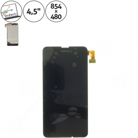 Nokia Lumia 635 Displej s dotykovým sklem pro mobilní telefon + zprostředkování servisu v ČR