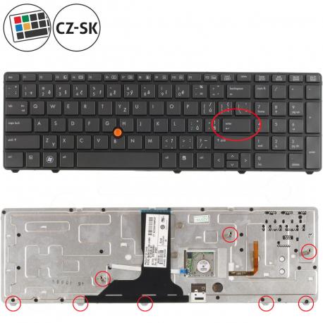 HP EliteBook 8760w Klávesnice pro notebook - CZ / SK + doprava zdarma + zprostředkování servisu v ČR