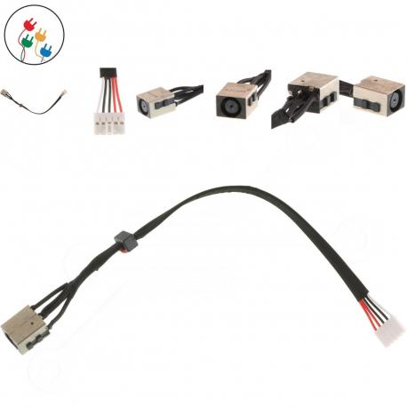 Dell Latitude E5540 Napájecí konektor pro notebook - 4 piny s připojovacím kabelem + zprostředkování servisu v ČR
