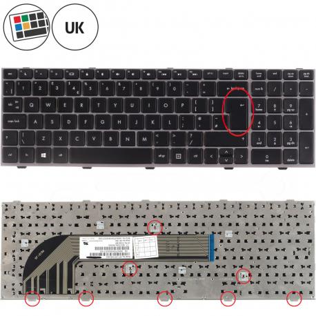 HP ProBook 4545s Klávesnice pro notebook - anglická - UK + zprostředkování servisu v ČR
