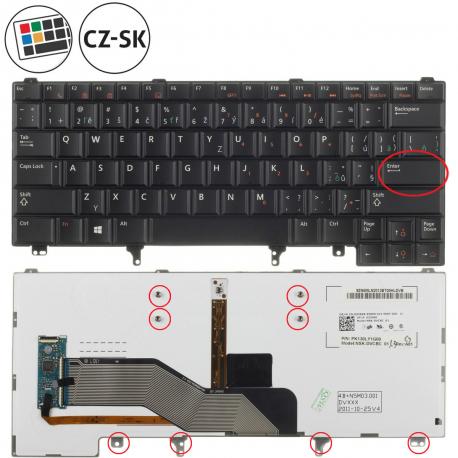 Dell Latitude E5420 Klávesnice pro notebook - CZ / SK + doprava zdarma + zprostředkování servisu v ČR