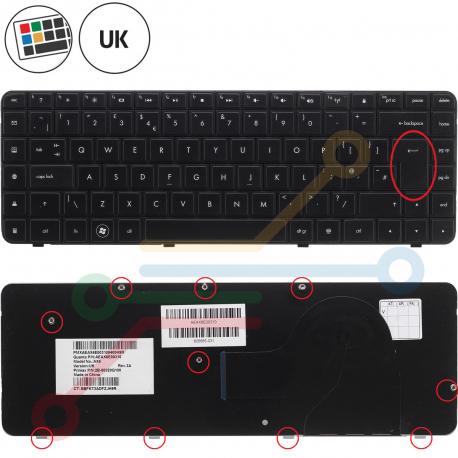 Compaq Presario CQ56 Klávesnice pro notebook - anglická - UK + zprostředkování servisu v ČR