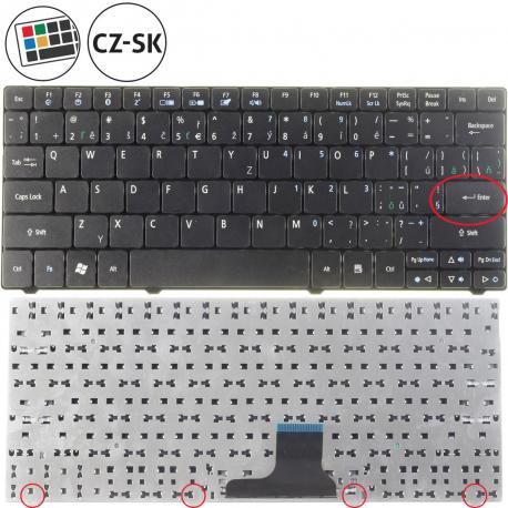 Acer Aspire One 722-C62KK Klávesnice pro notebook - CZ / SK + zprostředkování servisu v ČR