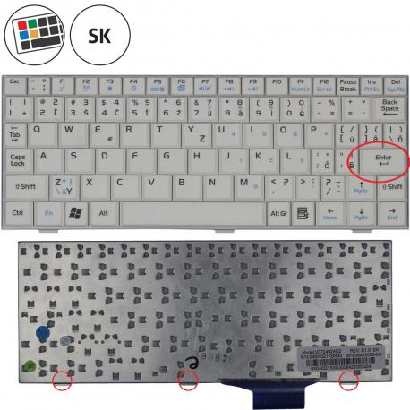 Asus Eee PC 900A Klávesnice pro notebook - SK + zprostředkování servisu v ČR