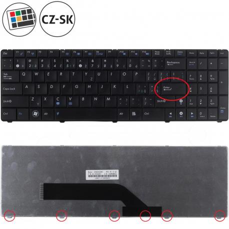 Asus K50AB Klávesnice pro notebook - CZ / SK + zprostředkování servisu v ČR