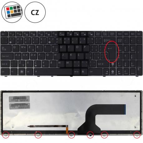 Asus X53SM Klávesnice pro notebook - CZ + doprava zdarma + zprostředkování servisu v ČR