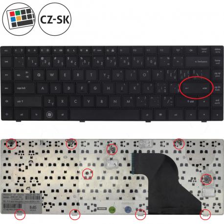 HP 620 Klávesnice pro notebook - CZ / SK + zprostředkování servisu v ČR