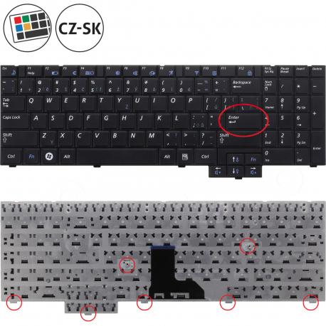 Samsung NP-R540 Klávesnice pro notebook - CZ / SK + zprostředkování servisu v ČR