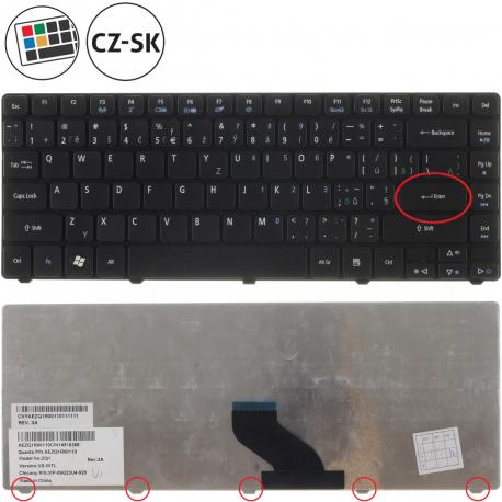 Acer Aspire 3820TG TimeLineX Klávesnice pro notebook - CZ / SK + zprostředkování servisu v ČR