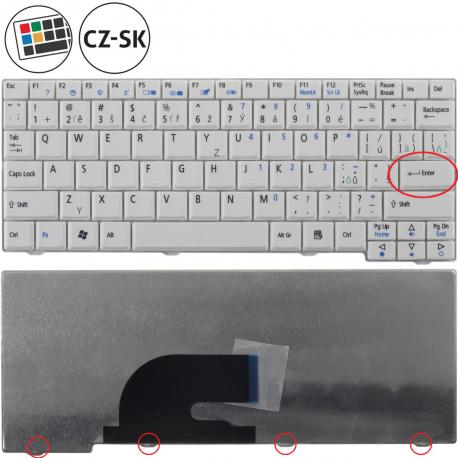 Acer Aspire One ZG5 Klávesnice pro notebook - CZ / SK + zprostředkování servisu v ČR