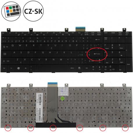 MSI GX620X Klávesnice pro notebook - CZ / SK + doprava zdarma + zprostředkování servisu v ČR