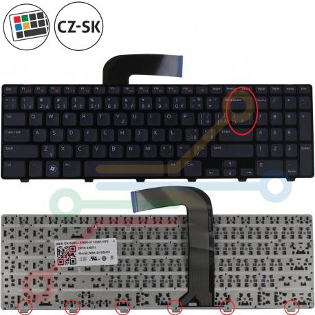 Dell Inspiron 15R Klávesnice pro notebook - CZ / SK + zprostředkování servisu v ČR