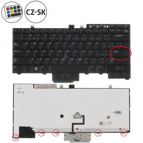 Dell Latitude E5510 Klávesnice pro notebook - CZ / SK + doprava zdarma + zprostředkování servisu v ČR