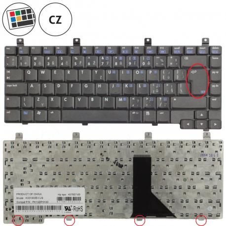 HP Compaq nx6125 Klávesnice pro notebook - CZ + zprostředkování servisu v ČR
