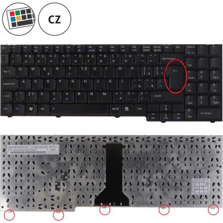Asus M51VR Klávesnice pro notebook - CZ + zprostředkování servisu v ČR