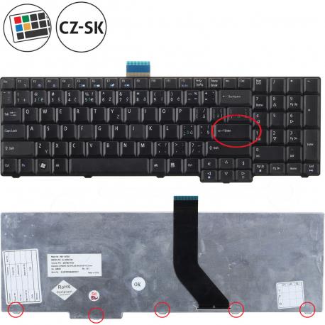 Acer Extensa 5635Z Klávesnice pro notebook - CZ / SK + zprostředkování servisu v ČR