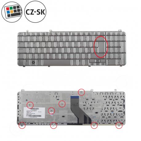 HP Pavilion dv7-2017eg Klávesnice pro notebook - CZ / SK + zprostředkování servisu v ČR