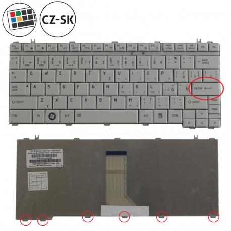 Toshiba Satellite Pro U500 Klávesnice pro notebook - CZ / SK + doprava zdarma + zprostředkování servisu v ČR