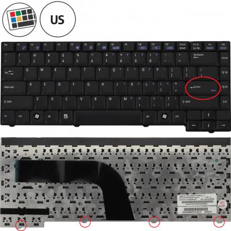 Asus X51RL Klávesnice pro notebook - americká - US + zprostředkování servisu v ČR