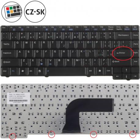 Asus X59SL Klávesnice pro notebook - CZ / SK + zprostředkování servisu v ČR