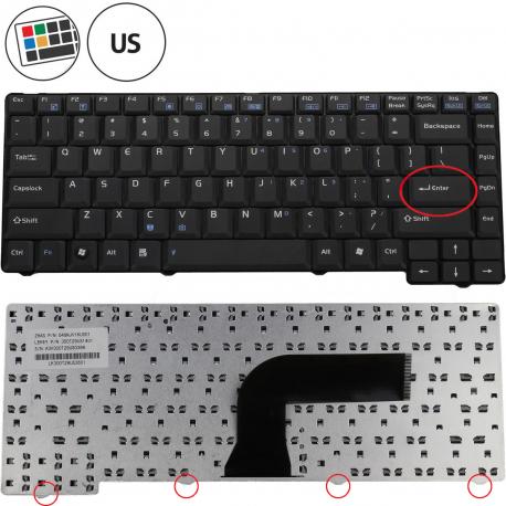 Asus X59SL Klávesnice pro notebook - americká - US + zprostředkování servisu v ČR