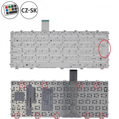 Asus Eee PC X101H Klávesnice pro notebook - CZ / SK + doprava zdarma + zprostředkování servisu v ČR