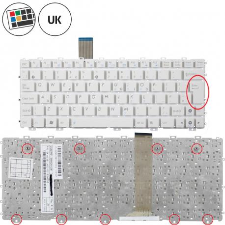 Asus Eee PC 1015BX Klávesnice pro notebook - anglická - UK + zprostředkování servisu v ČR