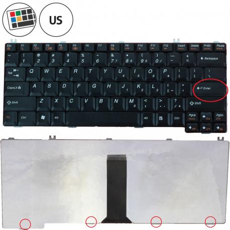 Lenovo IdeaPad Y400 Klávesnice pro notebook - americká - US + zprostředkování servisu v ČR