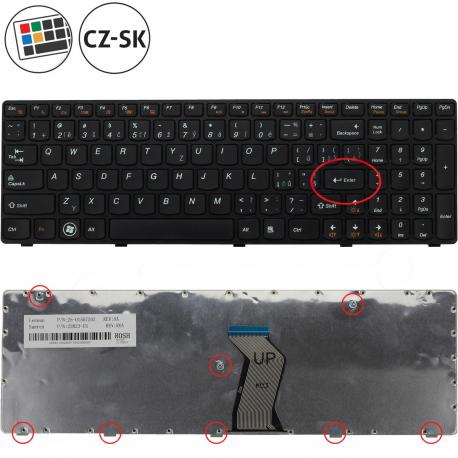 Lenovo IdeaPad Z580 Klávesnice pro notebook - CZ / SK + zprostředkování servisu v ČR