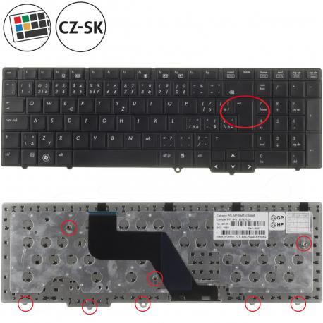 HP ProBook 6555b Klávesnice pro notebook - CZ / SK + zprostředkování servisu v ČR