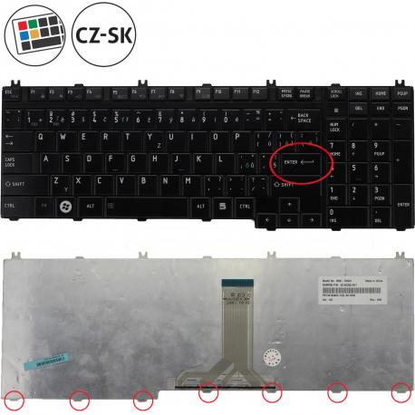 Toshiba Qosmio F750 Klávesnice pro notebook - CZ + zprostředkování servisu v ČR