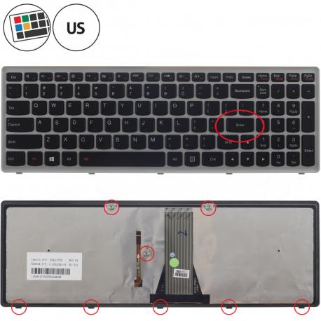 Lenovo IdeaPad Flex 15 Klávesnice pro notebook - americká - US + zprostředkování servisu v ČR