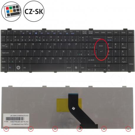 Fujitsu Siemens LIFEBOOK A530 Klávesnice pro notebook - CZ / SK + doprava zdarma + zprostředkování servisu v ČR