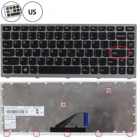 Lenovo IdeaPad U310-20169 Klávesnice pro notebook - americká - US + zprostředkování servisu v ČR