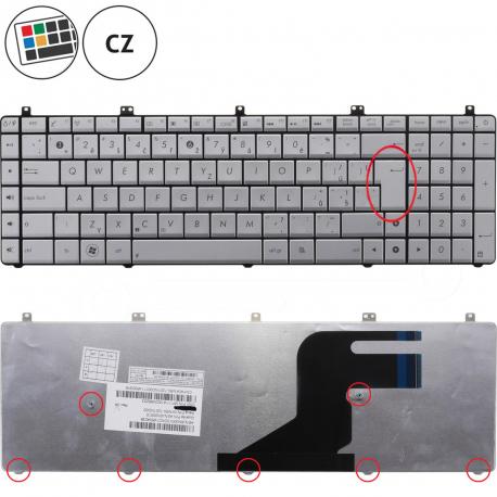 Asus N55SF Klávesnice pro notebook - CZ / SK + zprostředkování servisu v ČR
