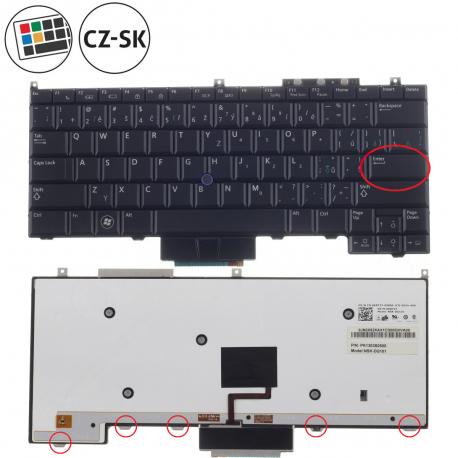 Dell Latitude E4300 Klávesnice pro notebook - CZ / SK + doprava zdarma + zprostředkování servisu v ČR