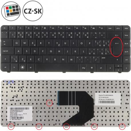 Compaq Presario CQ57 Klávesnice pro notebook - CZ / SK + zprostředkování servisu v ČR