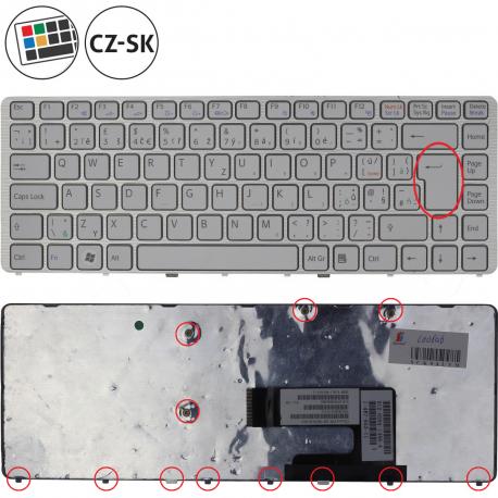 Sony Vaio VGN-NW17GJ Klávesnice pro notebook - CZ / SK + zprostředkování servisu v ČR