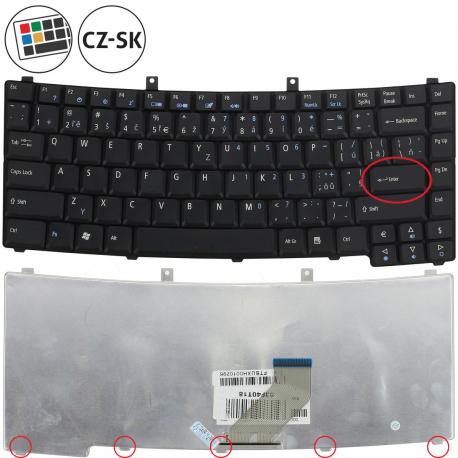 Acer TravelMate 2490 Klávesnice pro notebook - CZ / SK + doprava zdarma + zprostředkování servisu v ČR