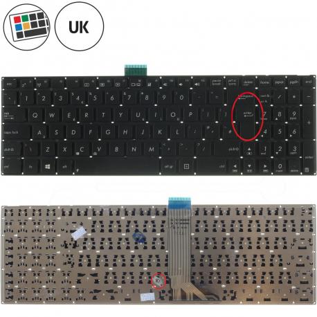 Asus X751L Klávesnice pro notebook - anglická - UK + zprostředkování servisu v ČR