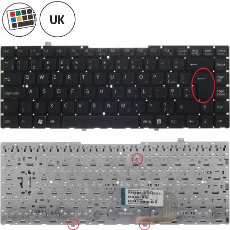 Sony Vaio VGN-FW51JF Klávesnice pro notebook - anglická - UK + zprostředkování servisu v ČR