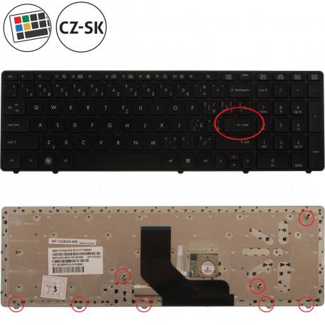 HP ProBook 6570b Klávesnice pro notebook - CZ / SK + doprava zdarma + zprostředkování servisu v ČR