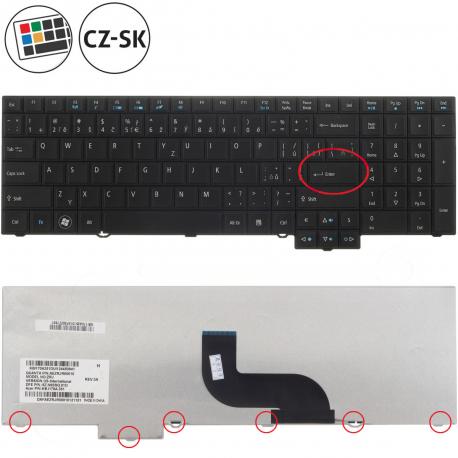 Acer TravelMate 5760G Klávesnice pro notebook - CZ / SK + zprostředkování servisu v ČR