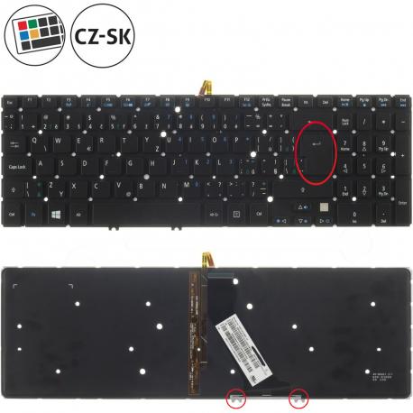 Acer Aspire V5-531G Klávesnice pro notebook - CZ / SK + zprostředkování servisu v ČR